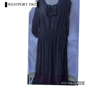 Westport 1962 plus size 22 maxi dress lined polyes